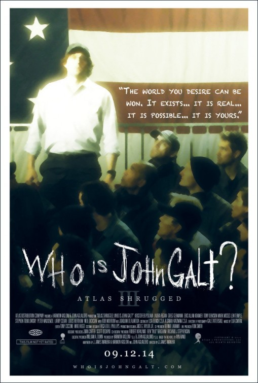 affiche de Atlas Shrugged III: Who is John Galt? VOSTFR