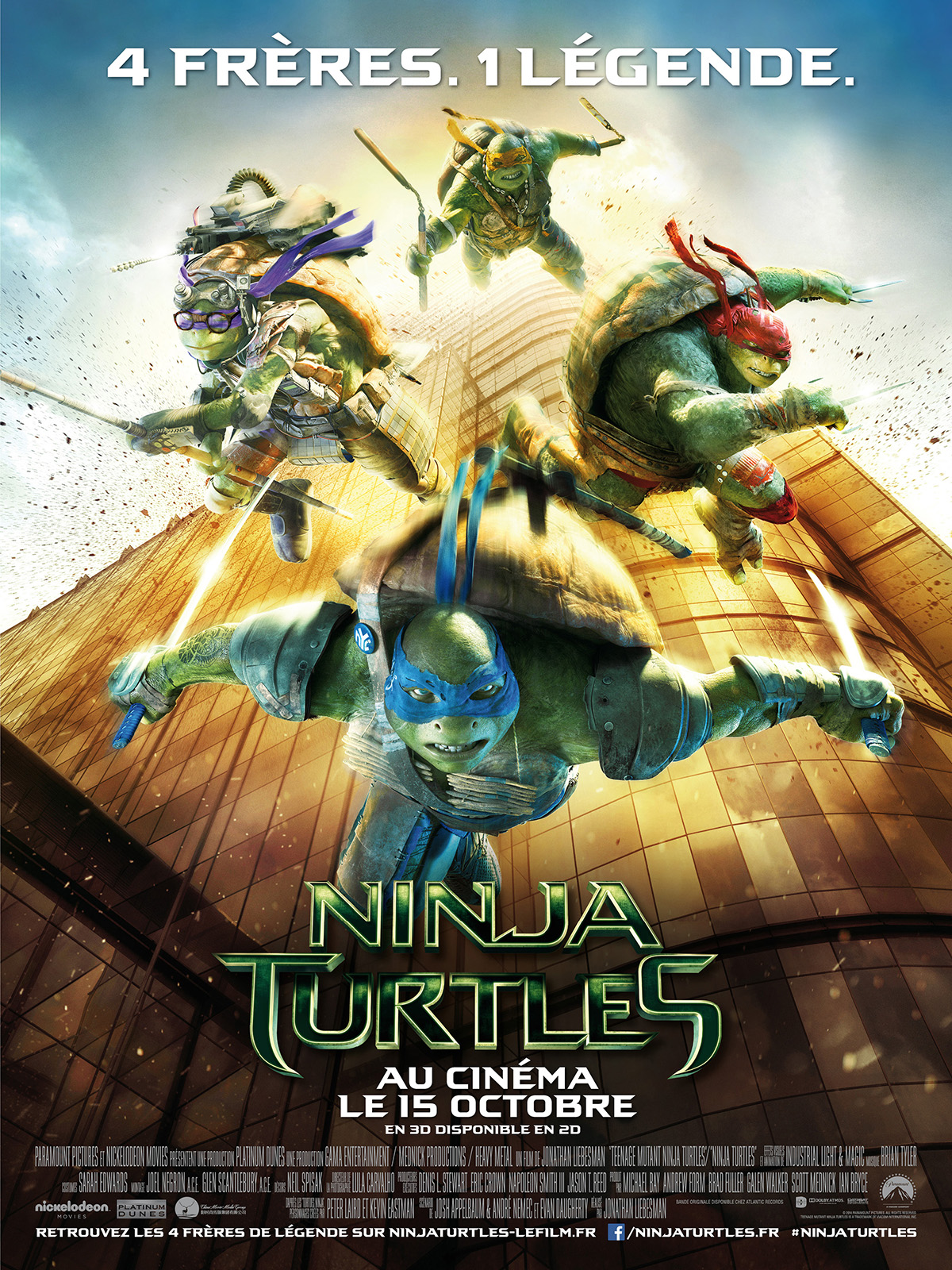 Photo Film Ninja Turtles