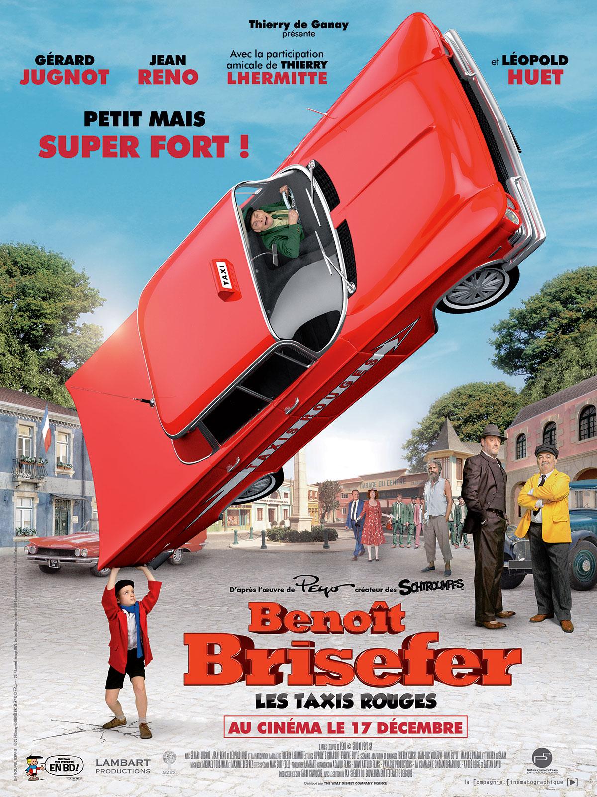 Benoît Brisefer : les Taxis Rouges dvdrip