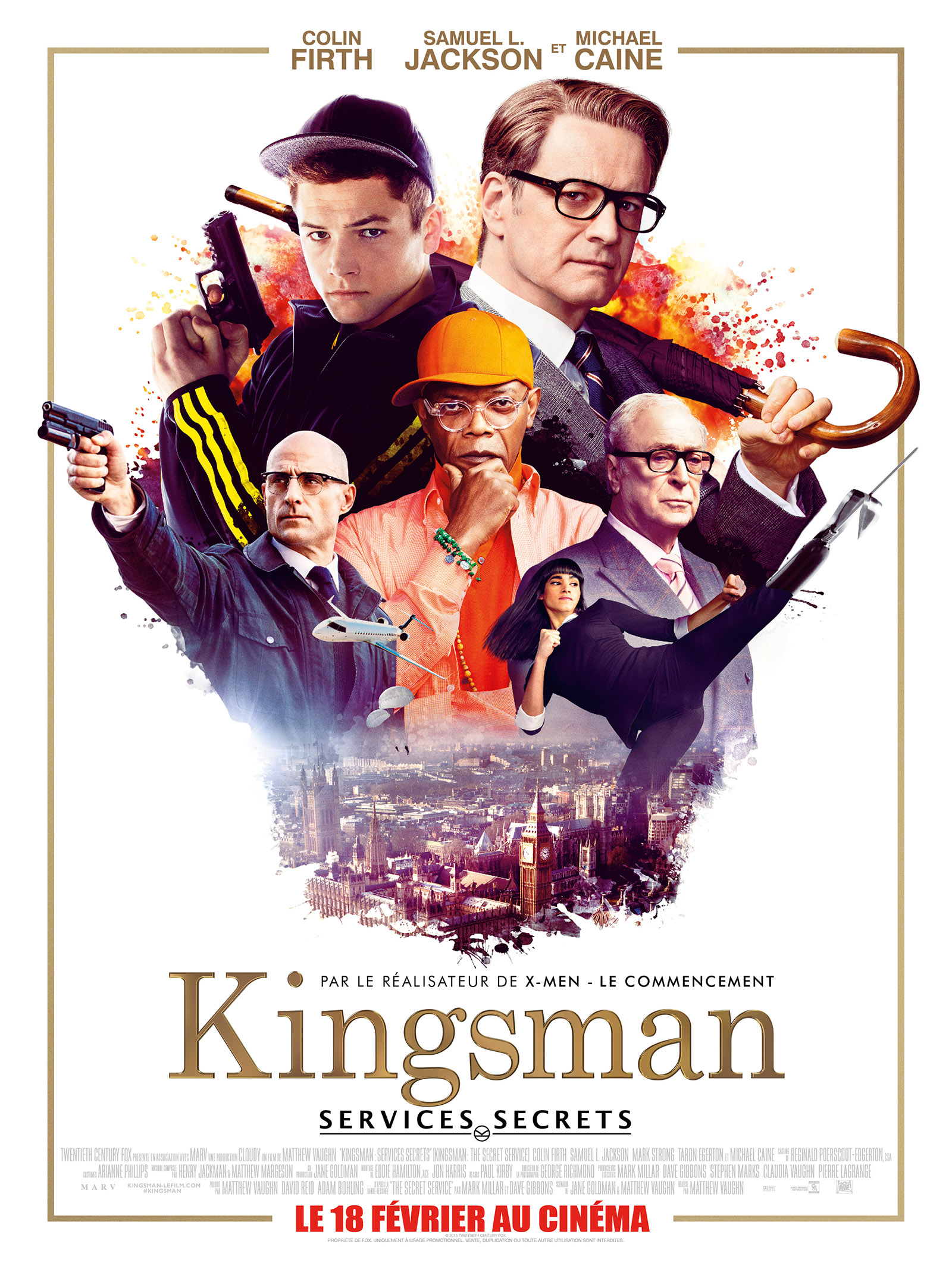 Kingsman : Services secrets dvdrip