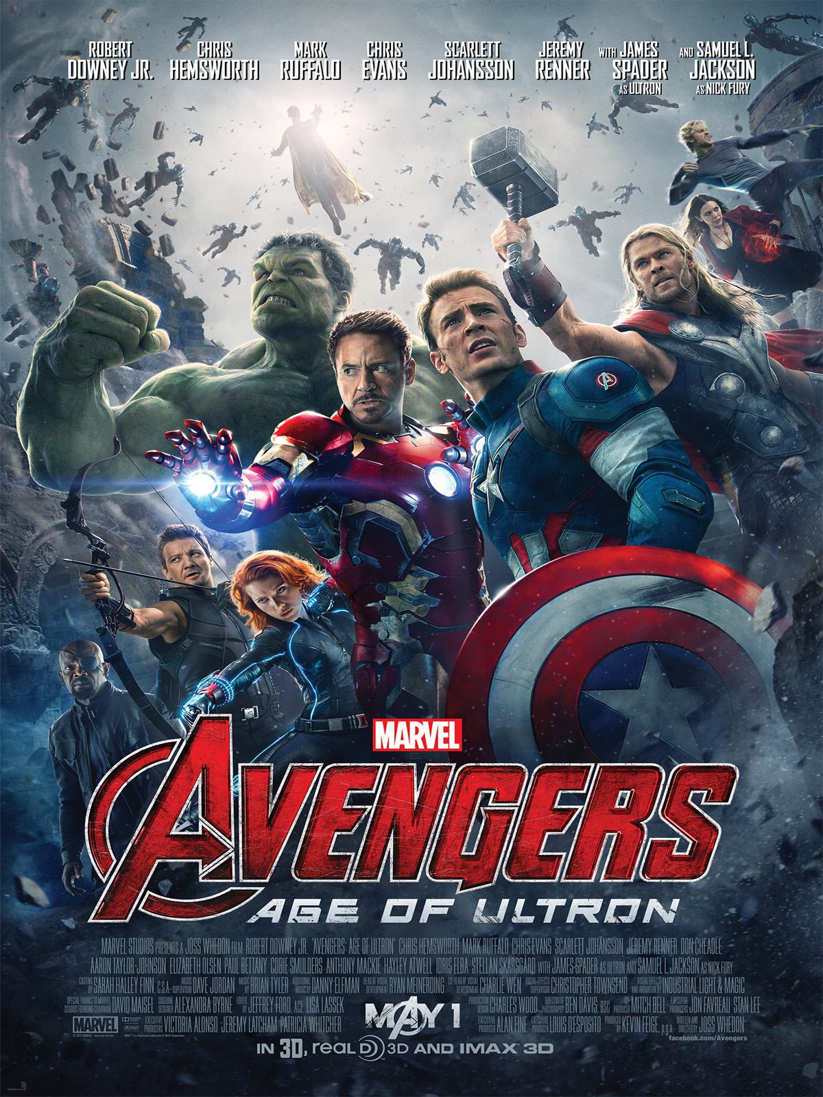 Avengers : L'ère d'Ultron dvdrip