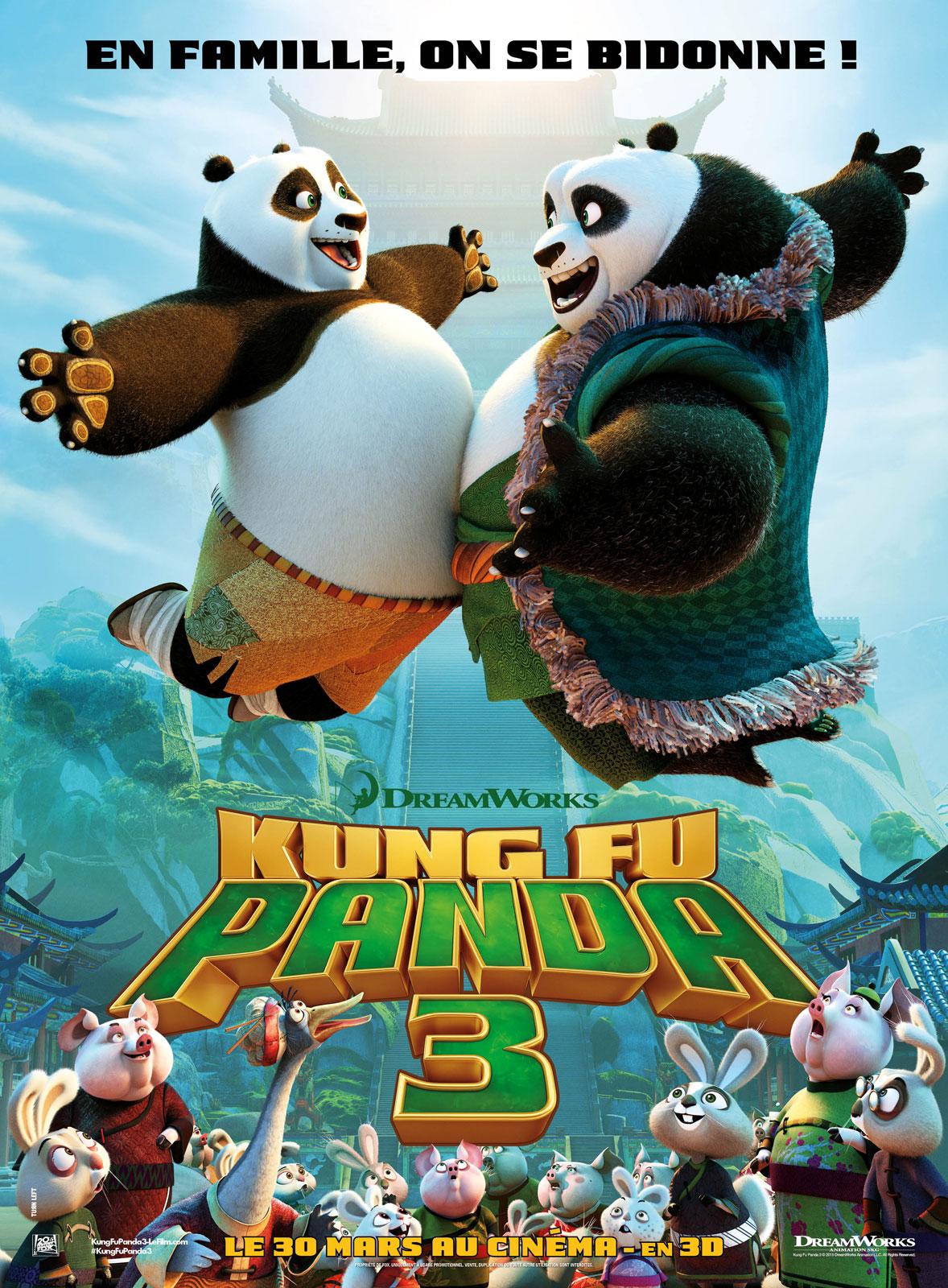 affiche film Kung Fu Panda 3 [HD]