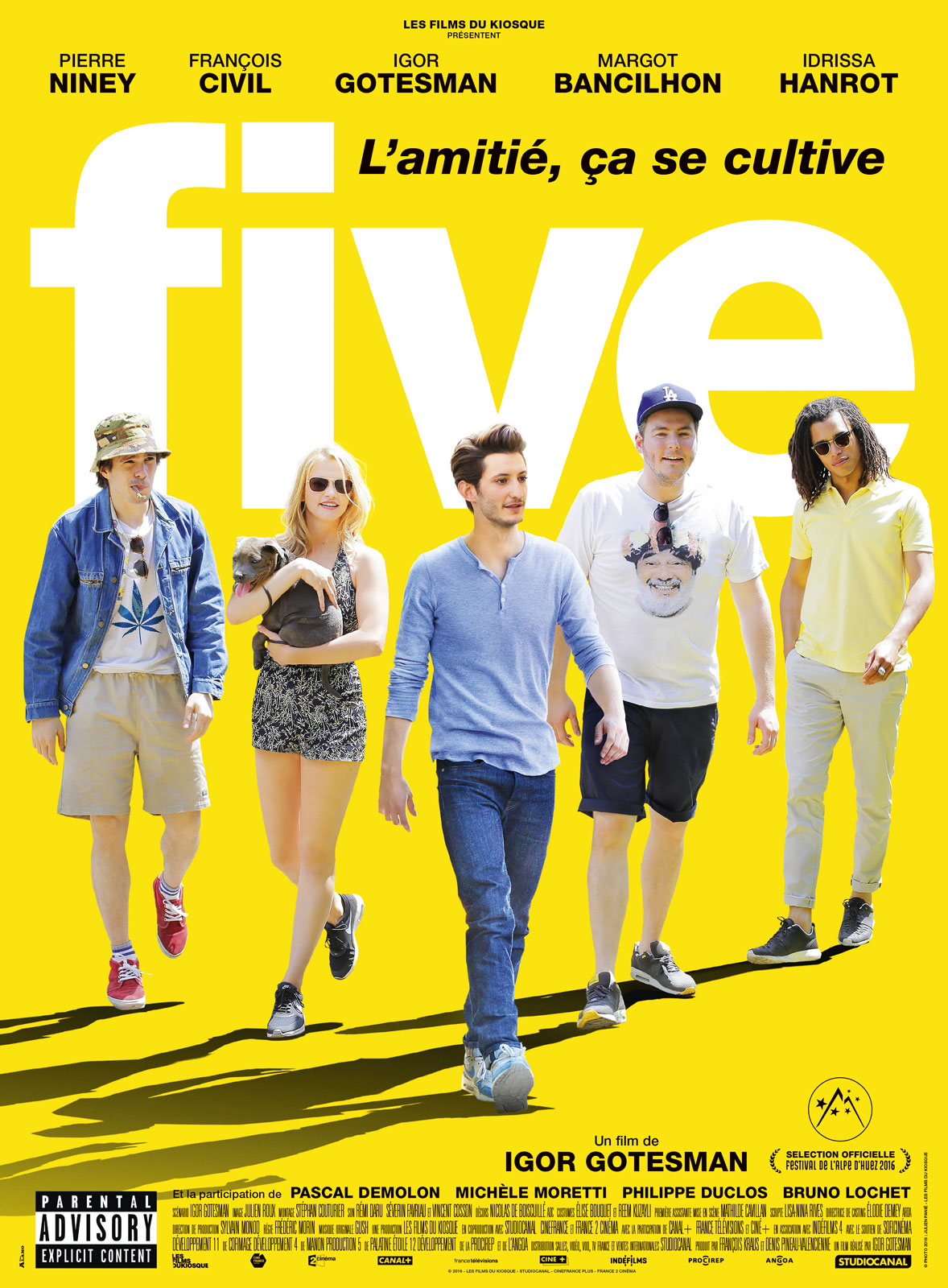 Five FRENCH BDRiP