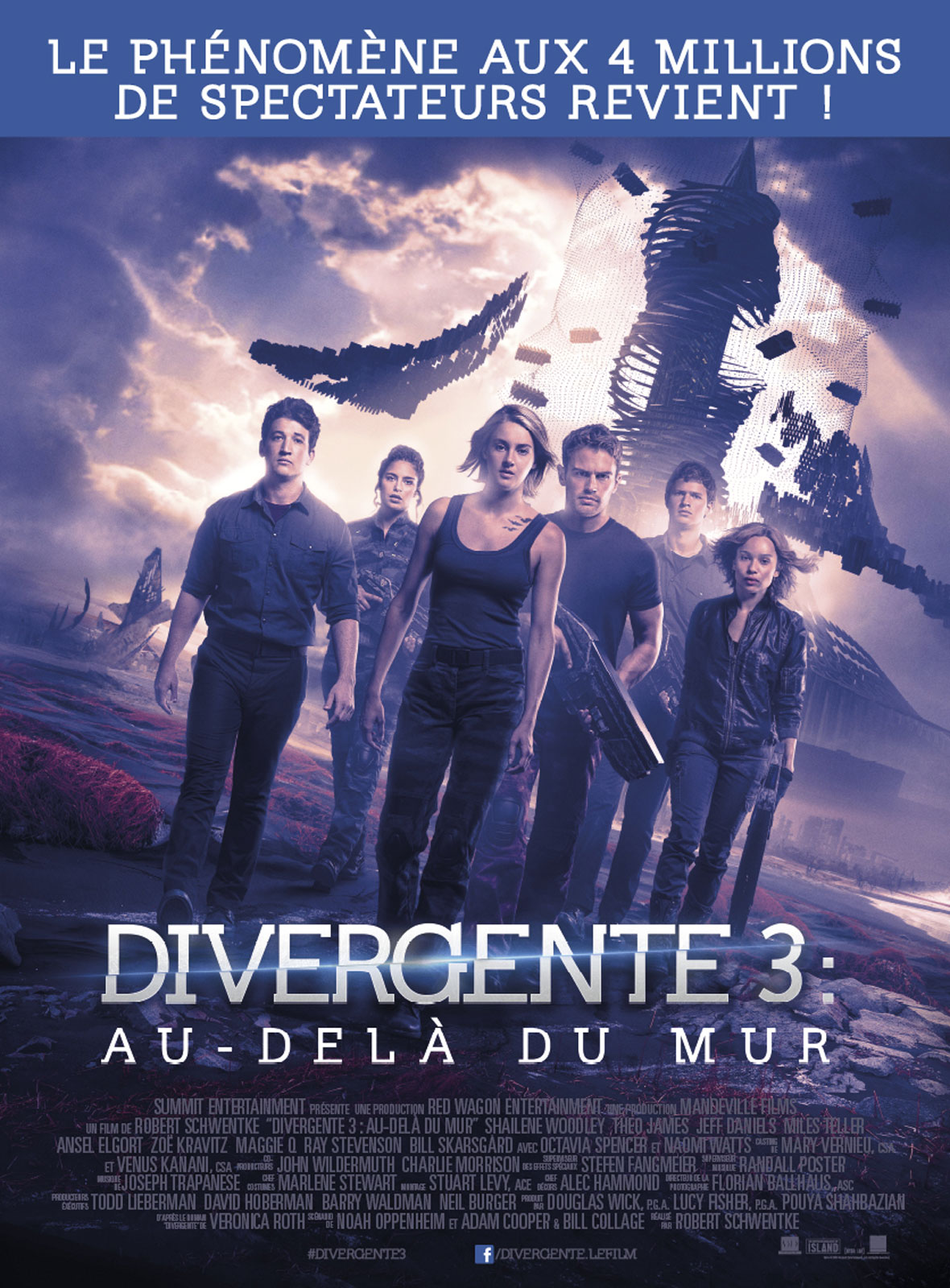 Divergente 3 : au-delà du mur FRENCH BDRiP