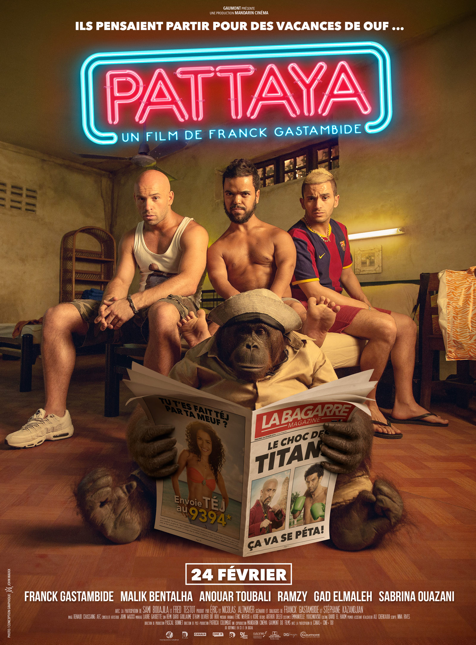 Pattaya (2016) film vf