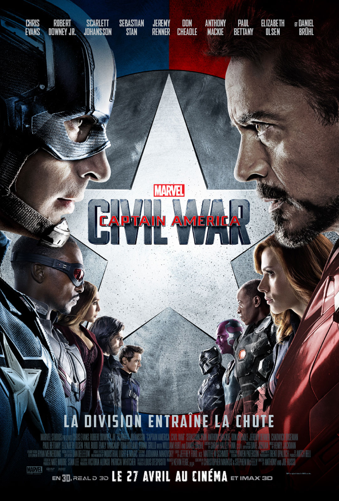 Captain America : Civil War [HD]