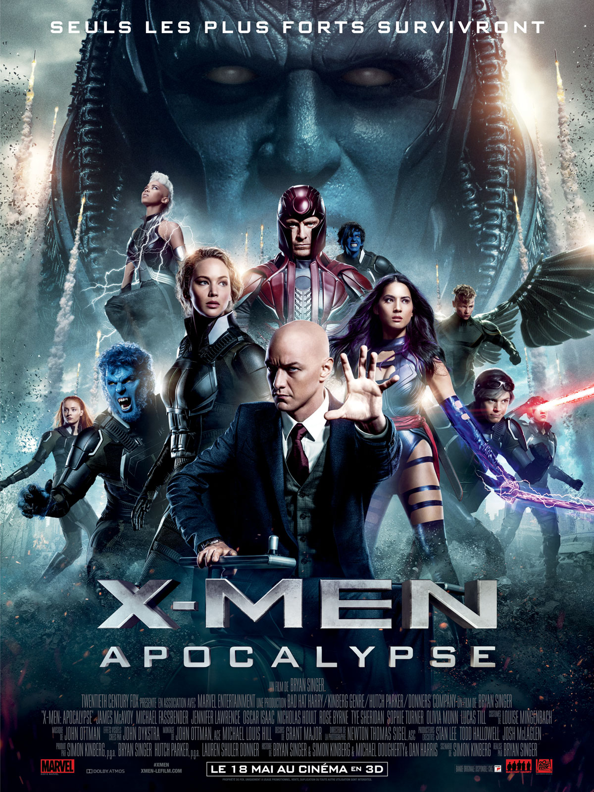 X-Men: Apocalypse [HD Truefrench]