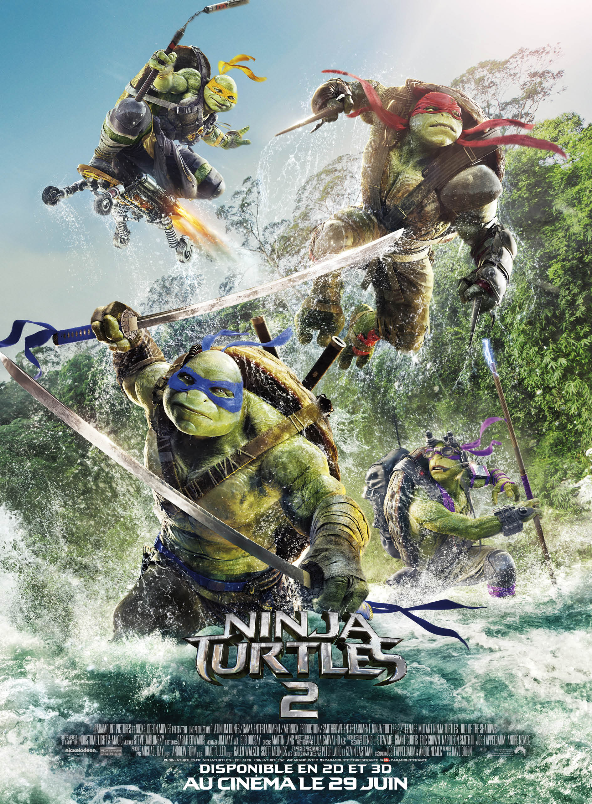 Ninja Turtles 2 [HD]