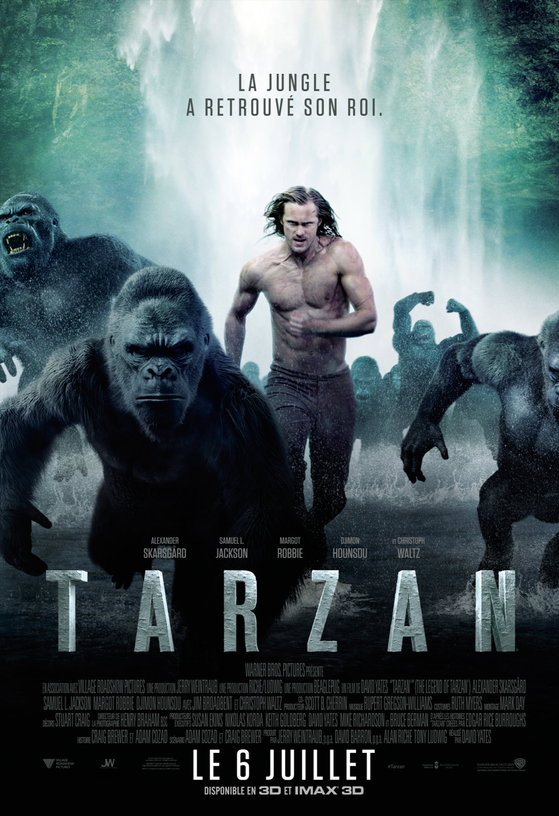 Tarzan film complet streaming 2016