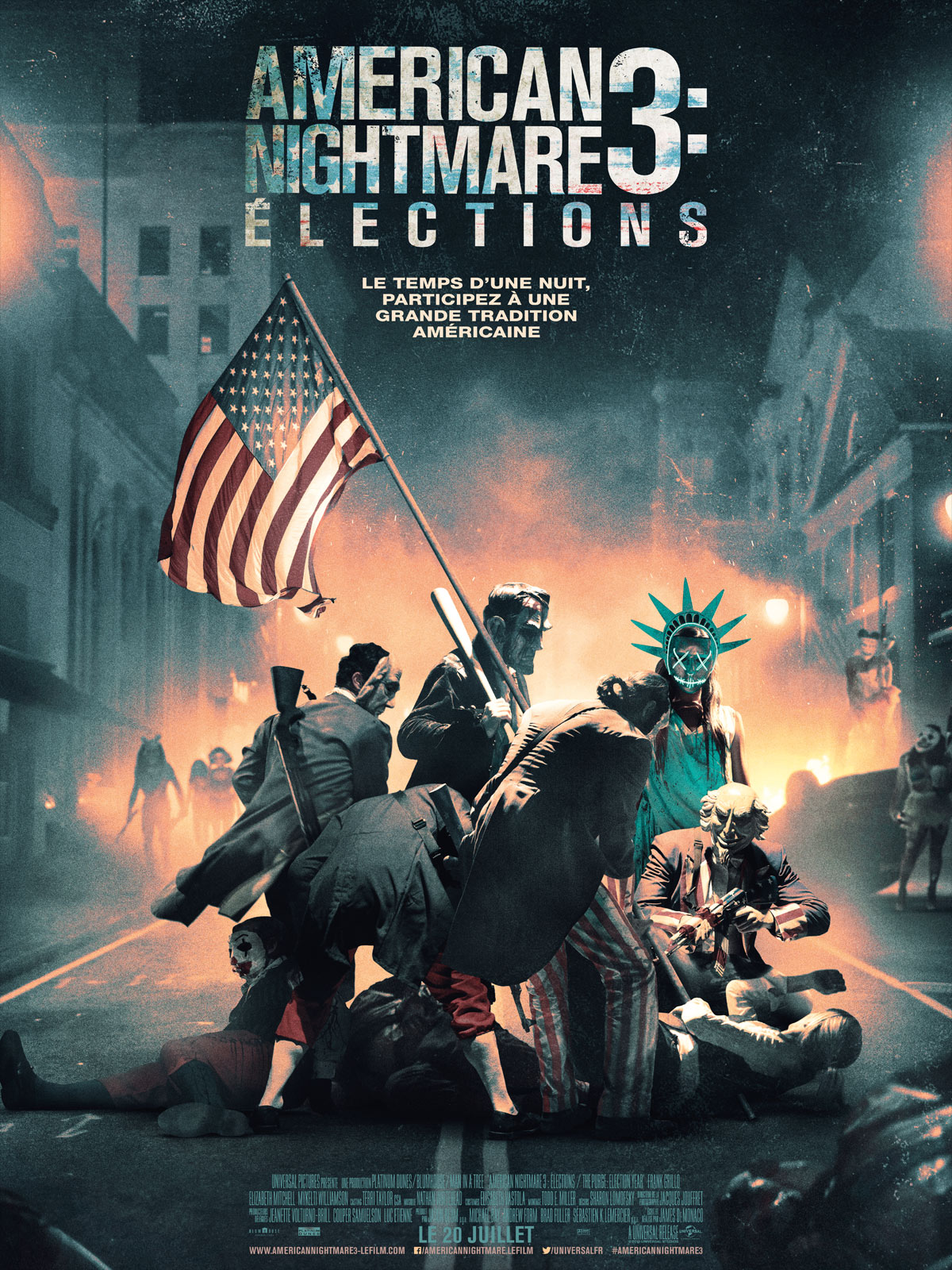 American Nightmare 3 : Elections TRUEFRENCH BDRiP