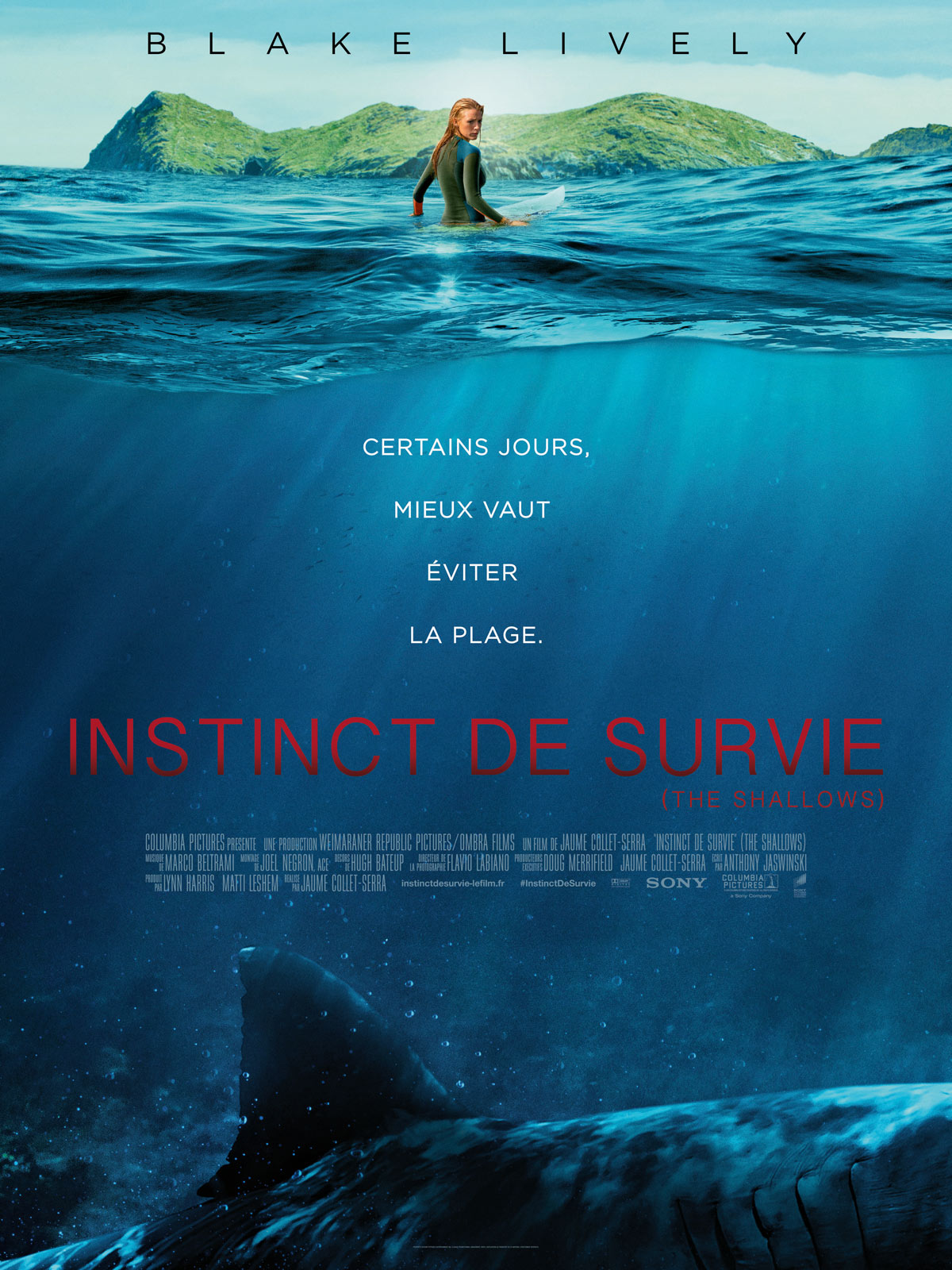 Instinct de survie – The Shallows 2016