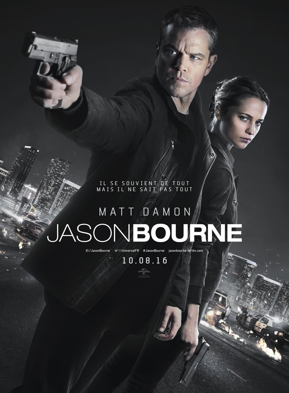 Jason Bourne DVDRip streaming VF