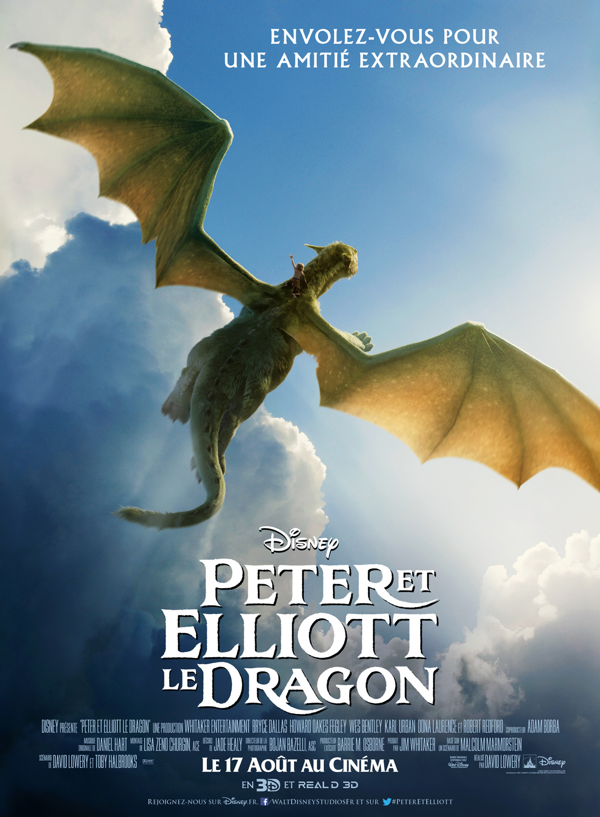 Peter et Elliott le dragon 2016 VF