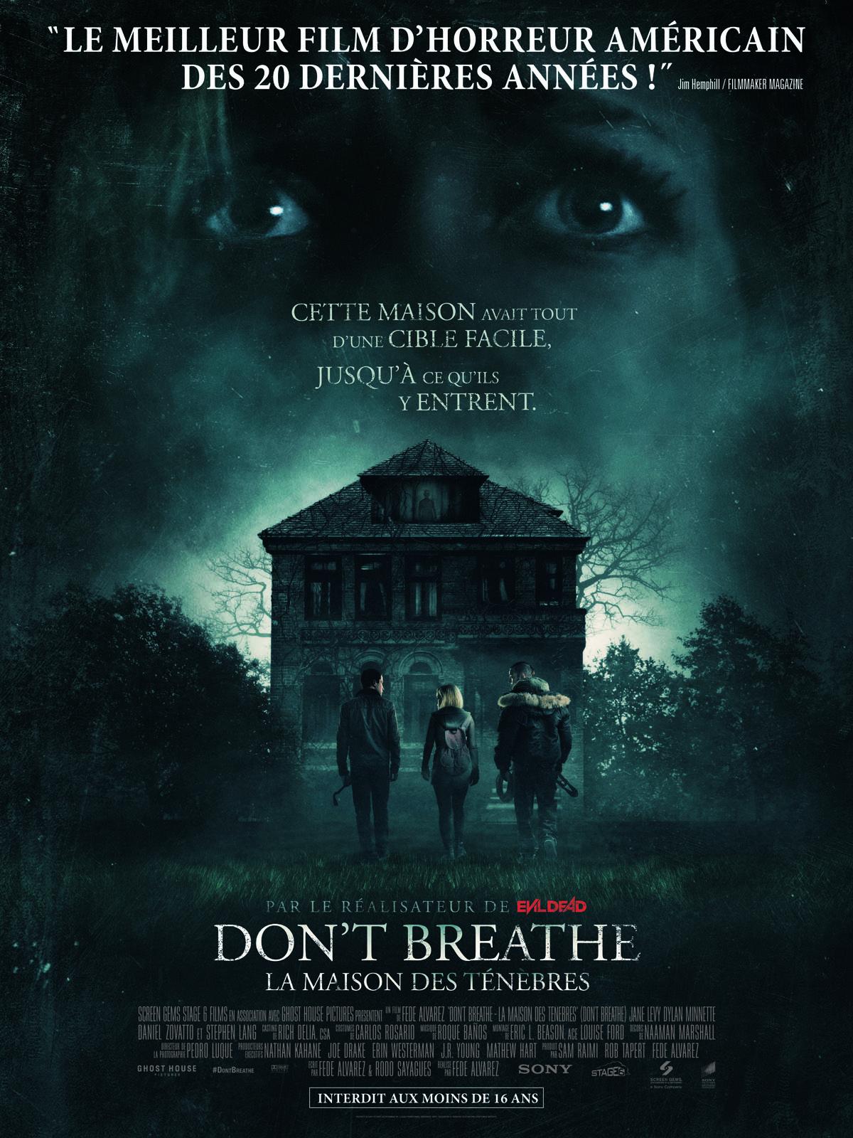 Don't Breathe - La maison des ténèbres VOSTFR WEBRiP