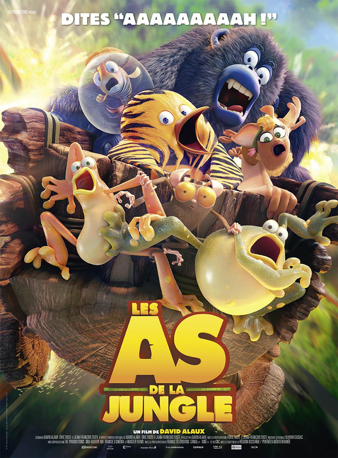 Affiche du film : Les As de la Jungle