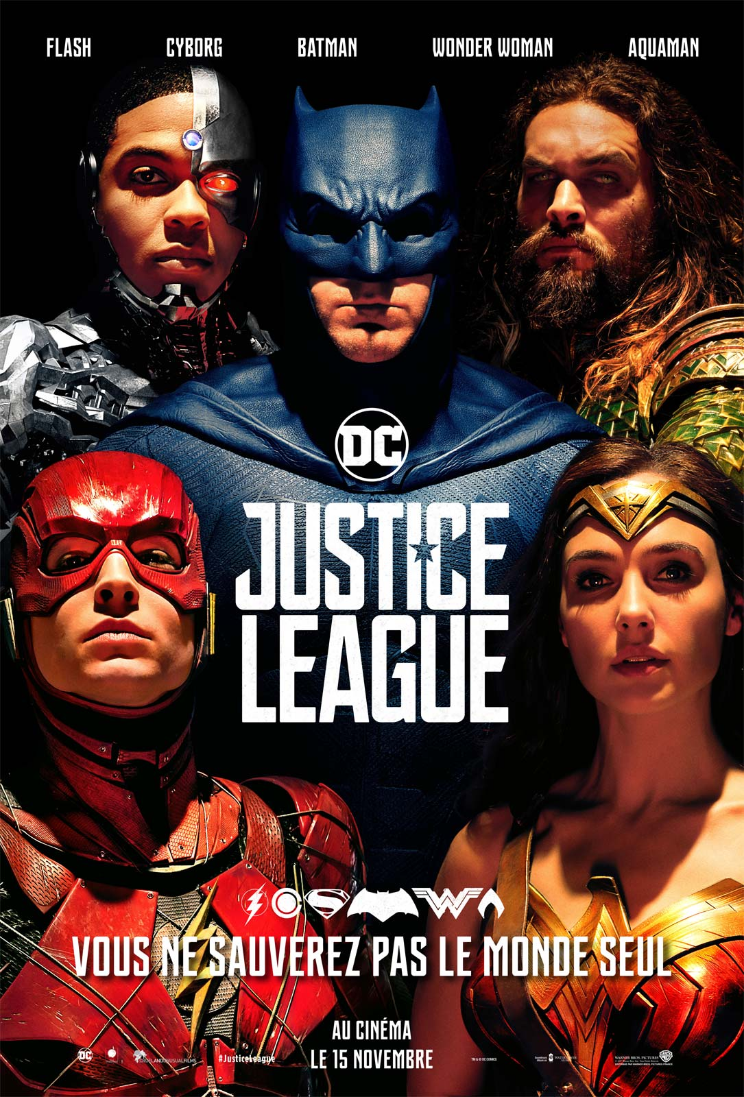 Affiche du film : Justice League