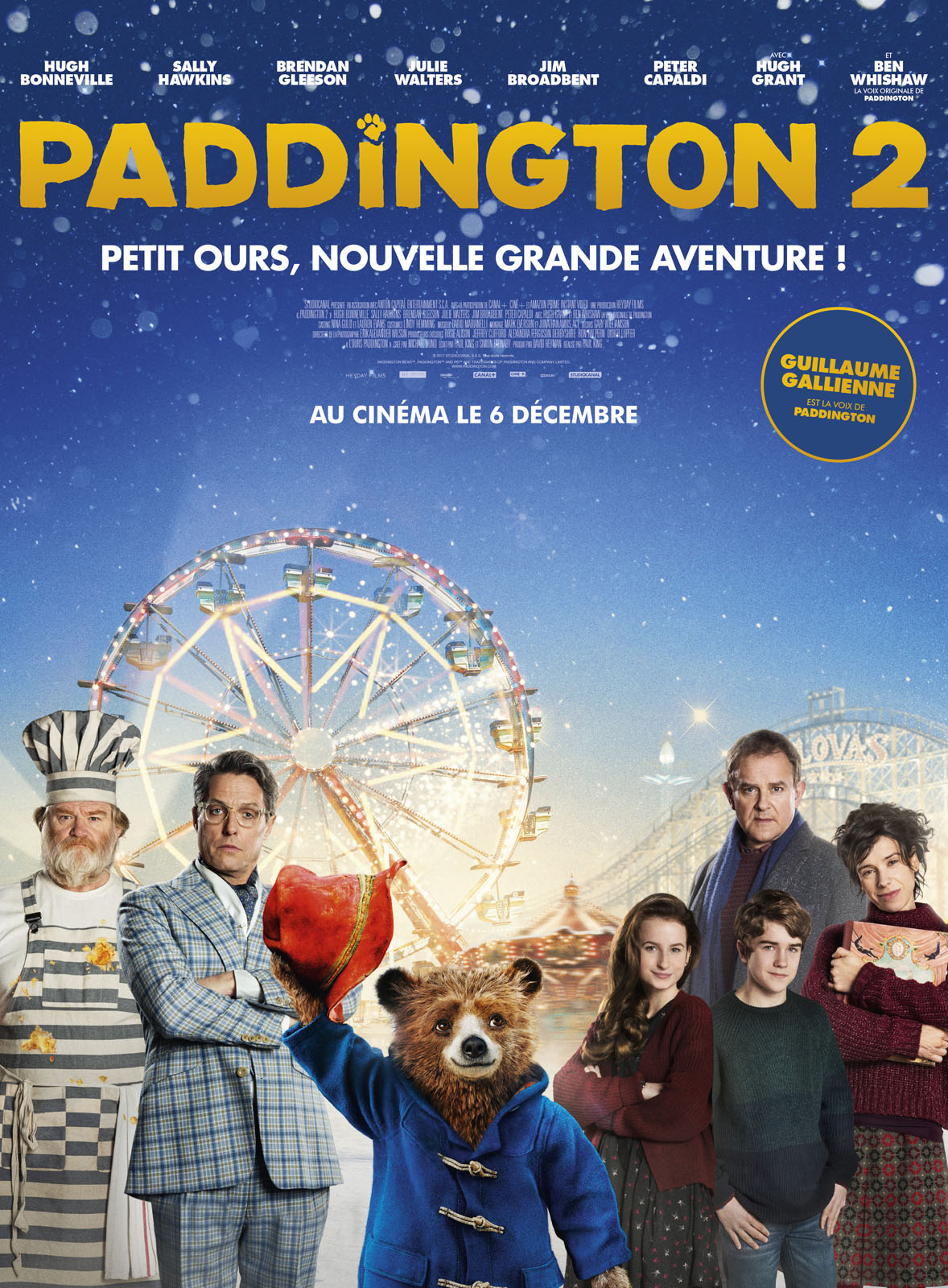 Affiche du film : Paddington 2