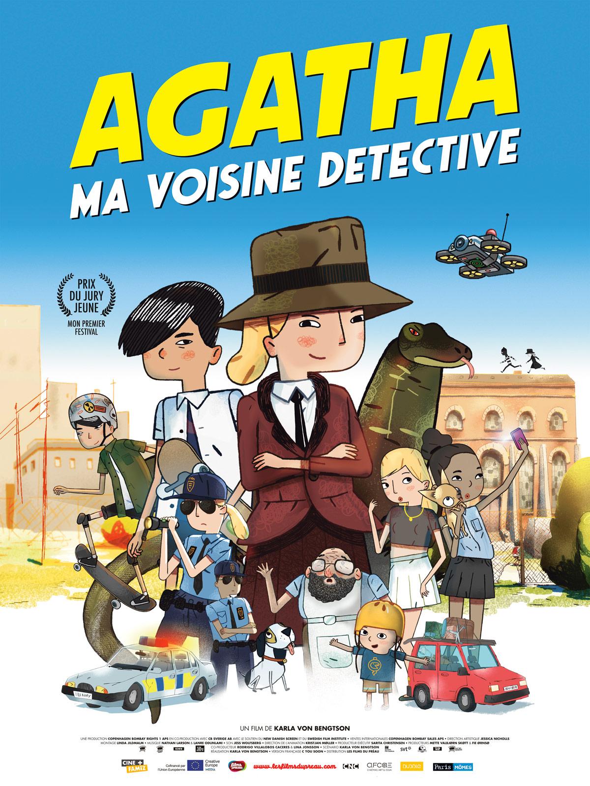 Affiche du film : Agatha, ma voisine détective
