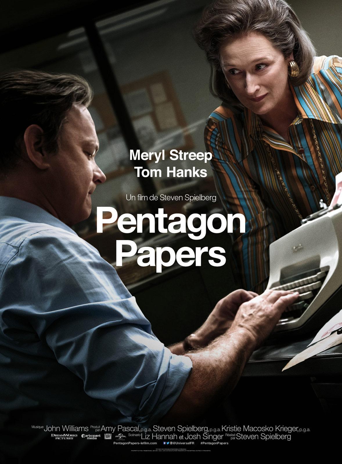 Affiche du film : Pentagon Papers