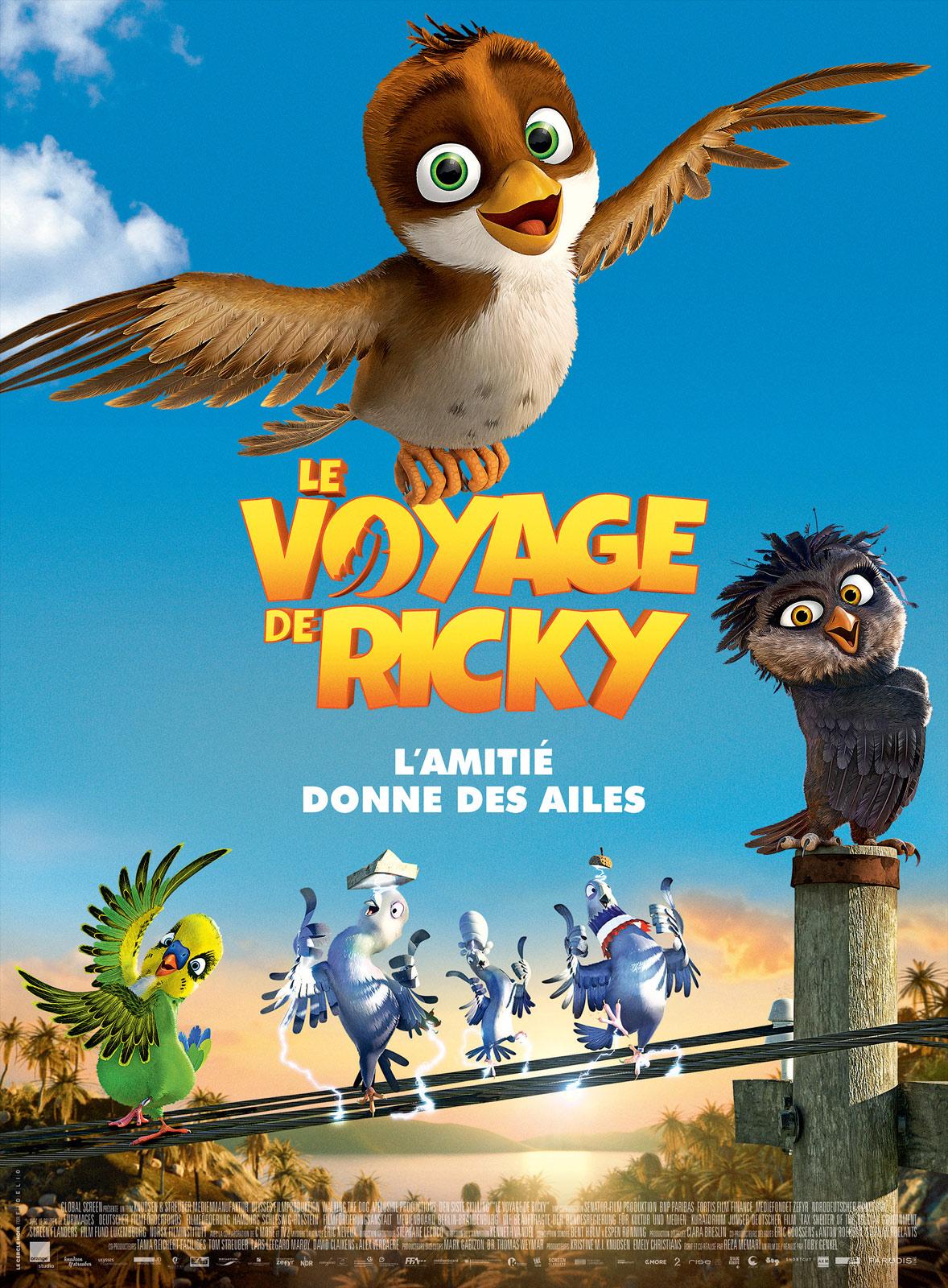 Affiche du film : Le Voyage de Ricky