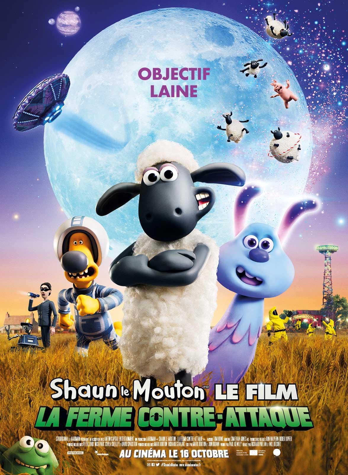 Melun : Shaun le Mouton Le Film : La Ferme Contre-Attaque