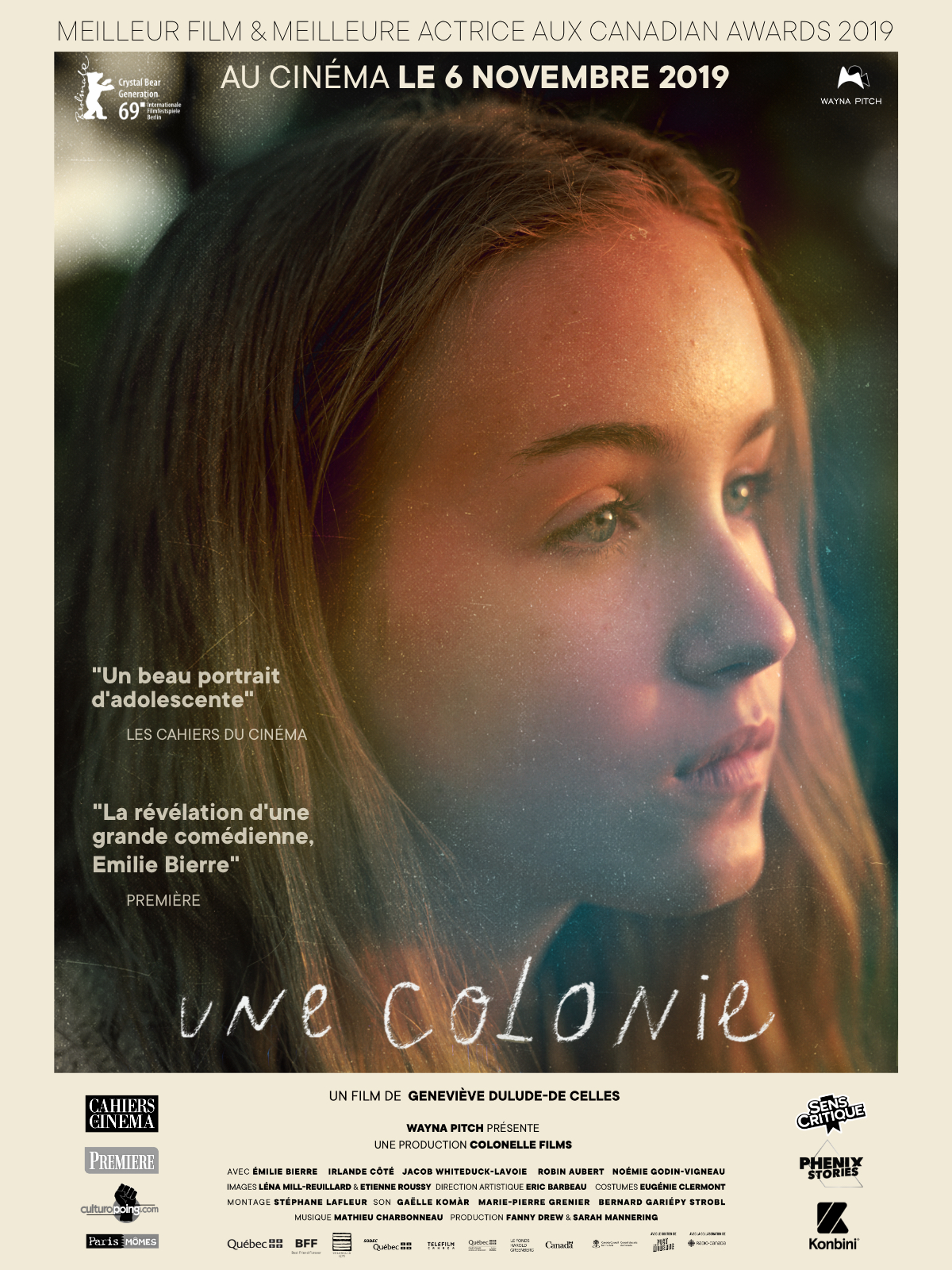 Une Colonie streaming complet