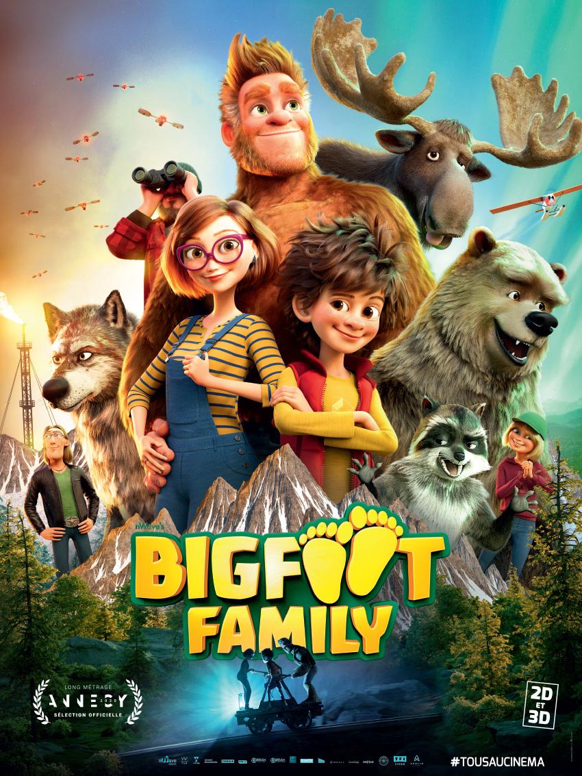 Melun : Bigfoot Family