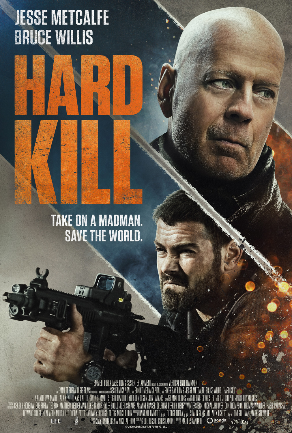 Hard Kill streaming complet