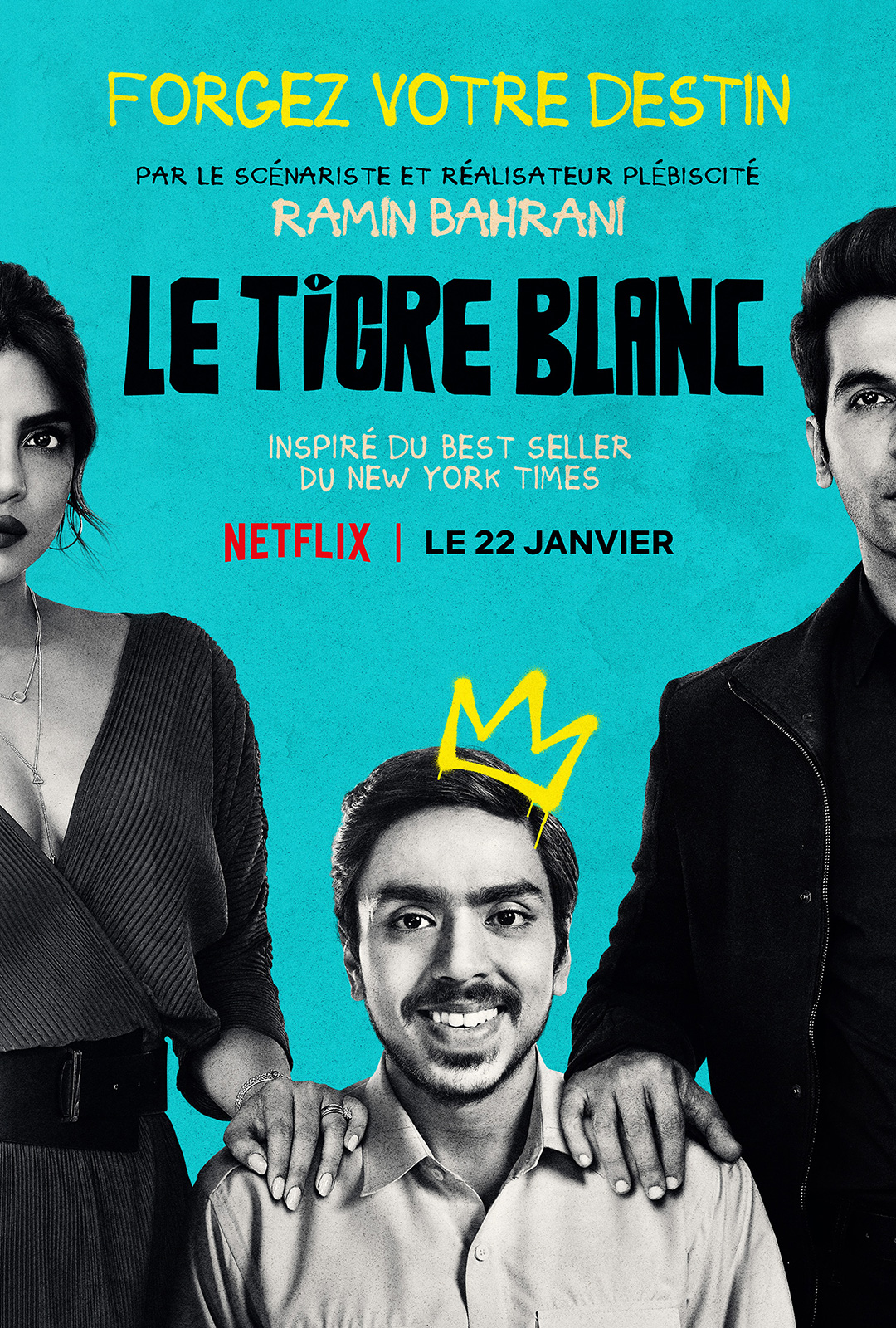 Le Tigre blanc streaming complet