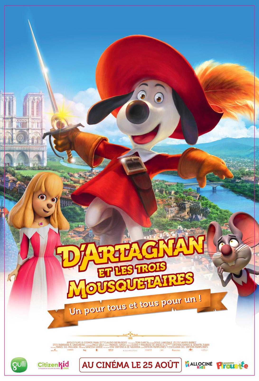 Melun : D'Artagnan et les trois Mousquetaires
