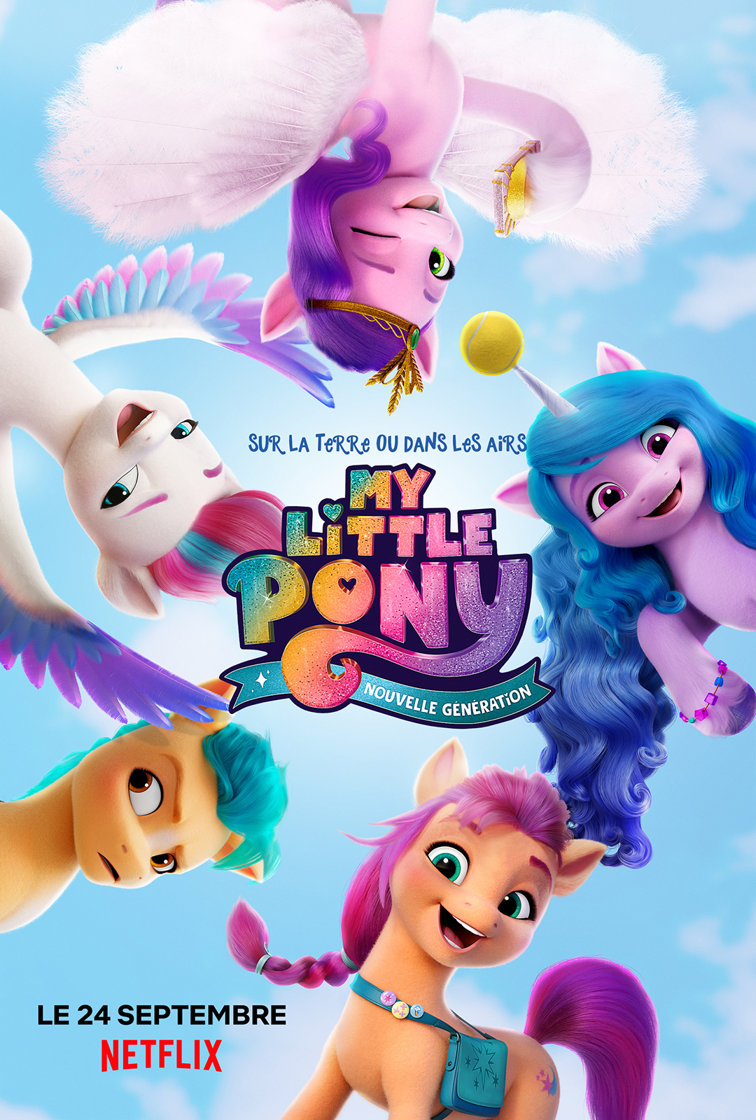 My Little Pony Nouvelle Génération streaming complet