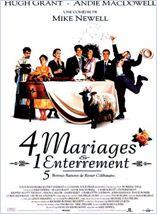 Quatre mariages et un enterrement streaming