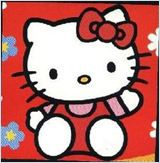 Hello kitty affiche