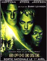 20h35 - NRJ12 - Sphère - 1998 - Epouvante-horreur, Science fiction, Thriller  - 2h13