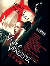 V pour Vendetta en streaming