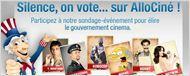 """""""Silence, on... vote sur AlloCiné !"""" - Les élections cinéma/séries (1er tour)"""