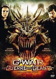 affiche G-War - La guerre des Géants