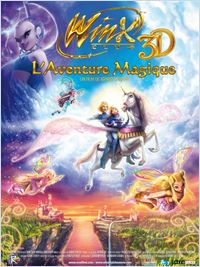 Film Winx Club l aventure magique 3D streaming vf