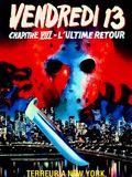 film Vendredi 13 - Chapitre 8 : L'ultime retour en streaming