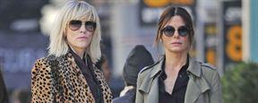 Ocean's Eight : Sandra Bullock et Cate Blanchett, braqueuses rock'n'roll sur le tournage