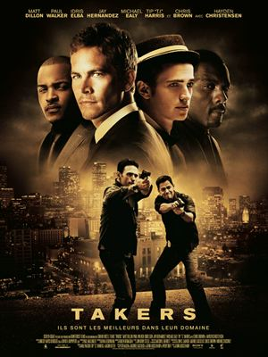 affiche Takers
