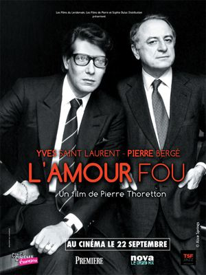 Yves Saint Laurent - Pierre Bergé, l'amour fou [FRENCH DVDRiP] | Multi Liens