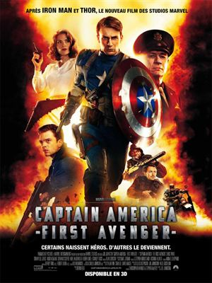 Captain America : First Avenger [FRENCH DVDRiP] | Multi Liens