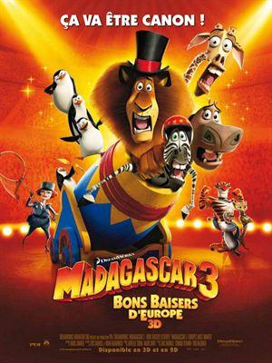 Madagascar 3, Bons Baisers D'Europe [FRENCH BDRiP] | Multi Liens