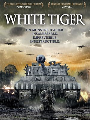 affiche White Tiger