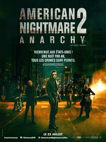 American Nightmare 2 : Anarchy | BDRip | 2014
