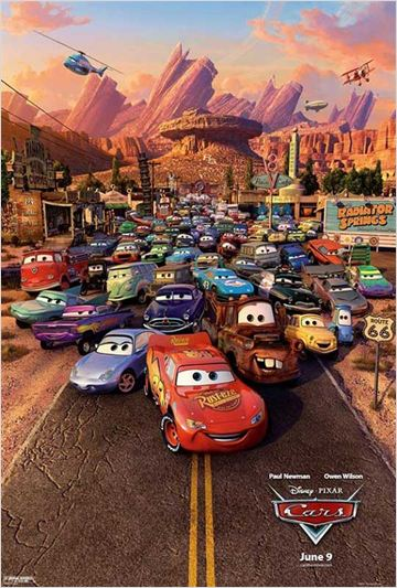 Cars 1 (2006)  [DVDRIP TRUEFRENCH]