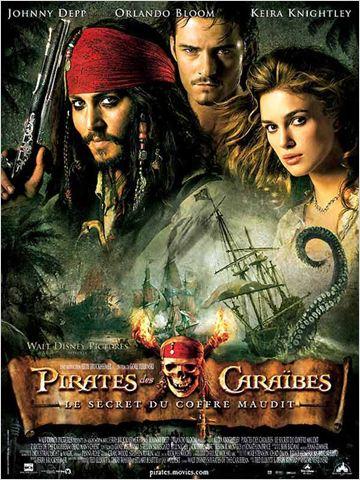 affiche Pirates des Caraïbes (2) : le Secret du Coffre Maudit