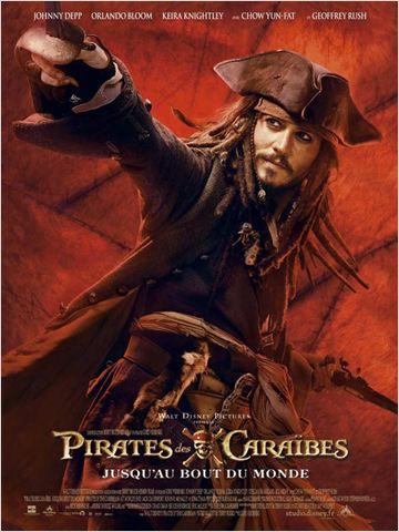 affiche Pirates des Caraïbes (3) : Jusqu'au Bout du Monde