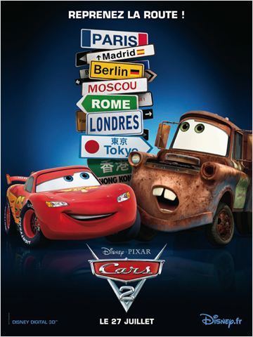 Cars 2 (2011) [DVDRIP TRUEFRENCH]